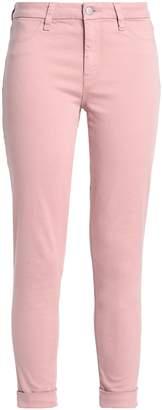 J Brand Brushed Cotton-blend Twill Skinny Pants