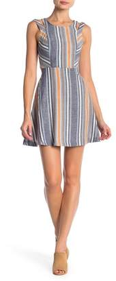 BCBGeneration Sleeveless Stripe Dress