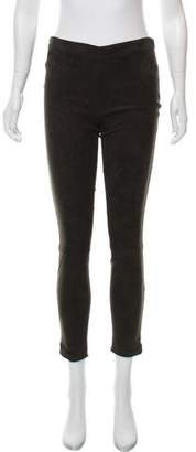 The Row Relton Suede Leggings w/ Tags