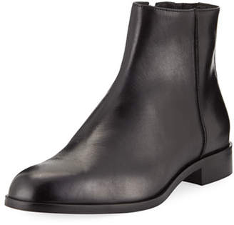 Donald J Pliner Men's Milo-13 Leather Zip Ankle Boots