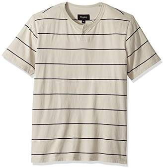Brixton Men's Milwaukee Short Sleeve Henley