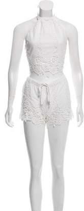Miguelina Lace Shorts Set