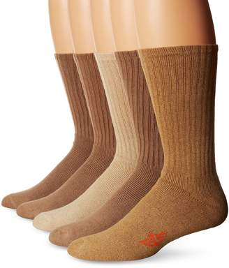 Dockers Docker's 5 Pack Cushion Comfort Sport Crew Socks