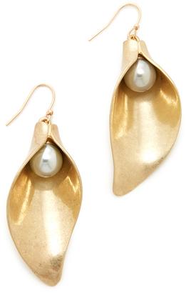 Lulu Frost Jardin Earrings $225 thestylecure.com
