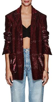 A.L.C. Women's Quincy Sequined Blazer - Wine
