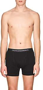 Calvin Klein Men's Cotton Boxer Briefs-Black