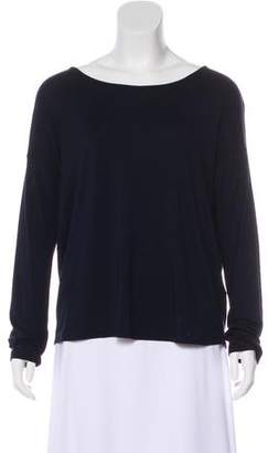 Tahari Long Sleeve Crew Neck Top