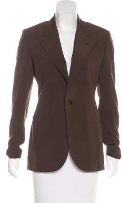 Jean Paul Gaultier Virgin Wool Peak-Lapel Blazer