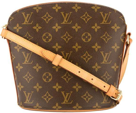 Louis Vuitton Monogram Canvas Drouot Bag