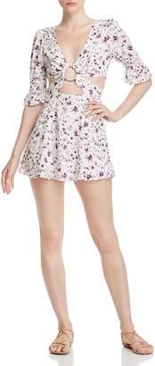 Nightwalker Charlie Floral Mini Dress