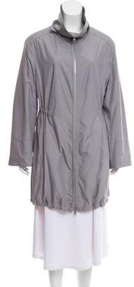 Akris Punto Lightweight Knee-Length Coat