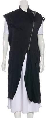 Haider Ackermann Long Lightweight Vest
