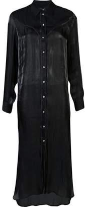 MM6 MAISON MARGIELA maxi shirt dress