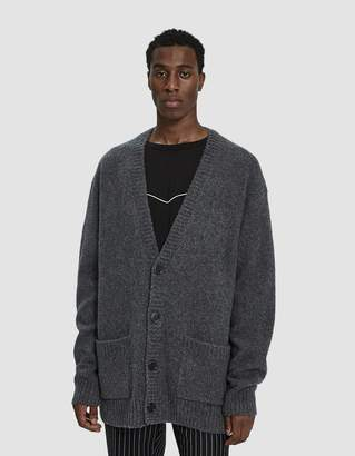 Dries Van Noten Knit Cardigan in Anthracite