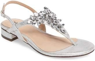 Paradox London Pink Flame Crystal Embellished Sandal