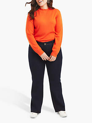 Curve Scarlet Straight Leg Jeans, Dark Wash