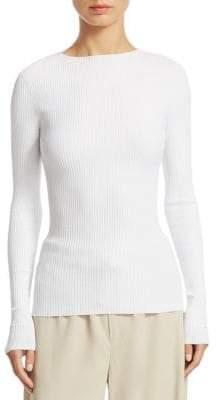 Vince Rib Long Sleeve Sweater