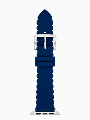 Kate Spade Navy scallop silicone 38/40mm apple watch® strap