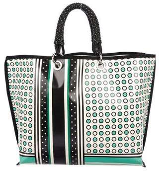 Marni Printed Coated Canvas Tote