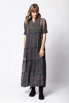 Zadig & Voltaire Zadig Voltaire Rapidel Print Flow Dress