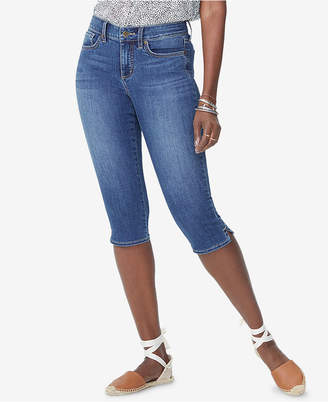 NYDJ Tummy-Control Skinny Capri Jeans