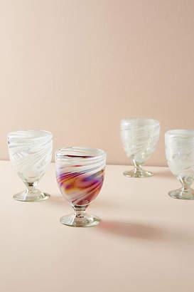 Anthropologie Jupiter Wine Glasses, Set of 4