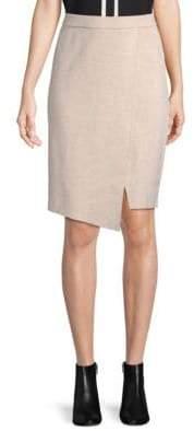 Lovers + Friends Gemma Asymmetric Pencil Skirt