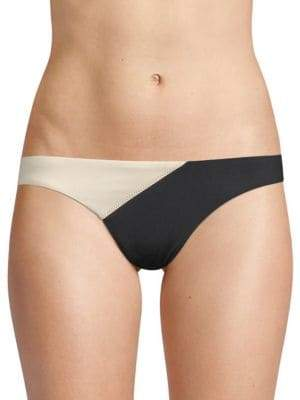 Vix Paula Hermanny Two-Tone Bikini Bottom