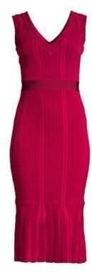 Herve Leger Knit Midi Dress