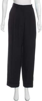 Dries Van Noten High-Rise Wool Pants w/ Tags