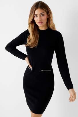 Next Lipsy Zip Pocket Shift Dress - 6