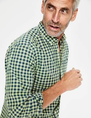 Boden Garment-Dyed Poplin Shirt