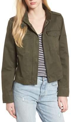 Levi's Crop Military Jacket