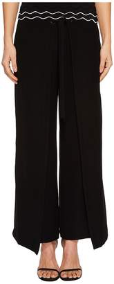 Yigal Azrouel Tie Front Wrap Pants Women's Casual Pants