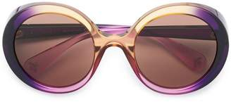 Gucci gradient tinted sunglasses