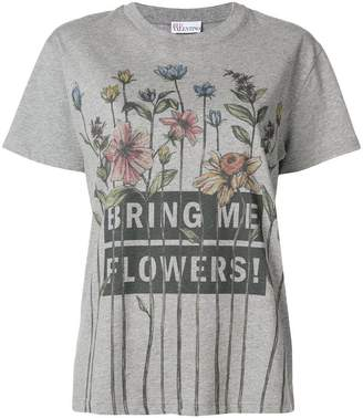 RED Valentino Bring Me Flowers T-shirt