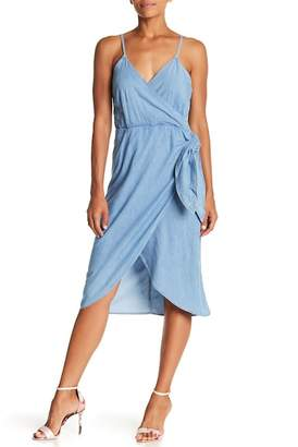 ABS by Allen Schwartz Collection Wrap Tie Dress