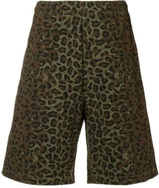 Stussy camouflage print shorts