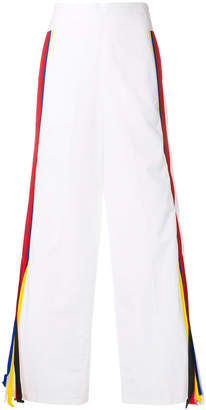Ports 1961 contrast side panels trousers