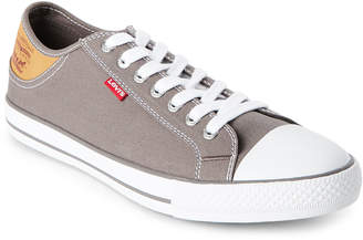 Levi's Charcoal Stan Buck Low-Top Sneakers