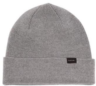 00d80387cf768 Paul Smith Wool Beanie Hat - Mens - Grey