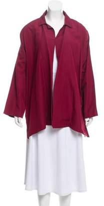 eskandar Textured Silk Jacket Textured Silk Jacket