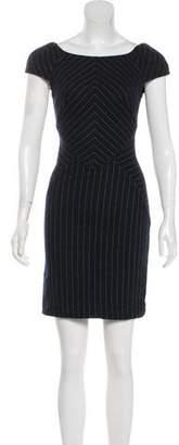 Diane von Furstenberg Pin-Stripe Mini Dress