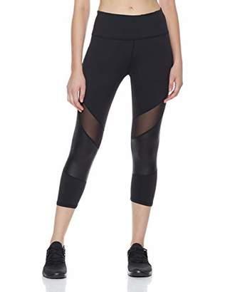 Shapewell Capri Yoga Legging High Waist with Tummy Control Black