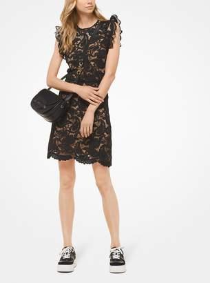 MICHAEL Michael Kors Corded Paisley Lace Dress