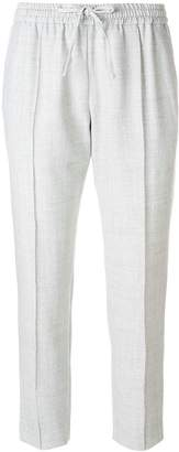 Joseph cropped track trousers