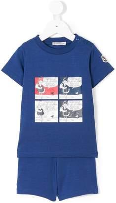 0ff1415b6 Moncler Blue Girls  Tops - ShopStyle
