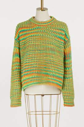 Acne Studios Multicolored mohair and wool sweater