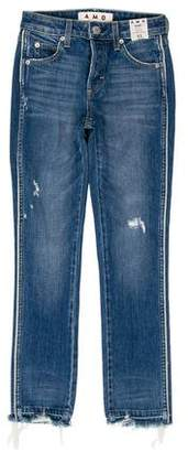 Amo Babe Mid-Rise Jeans w/ Tags
