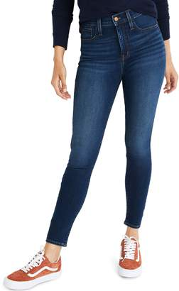 Madewell Roadtripper High Rise Ankle Zip Jeans